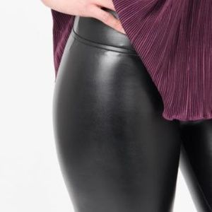 Agnes and Dora medium faux leather leggings